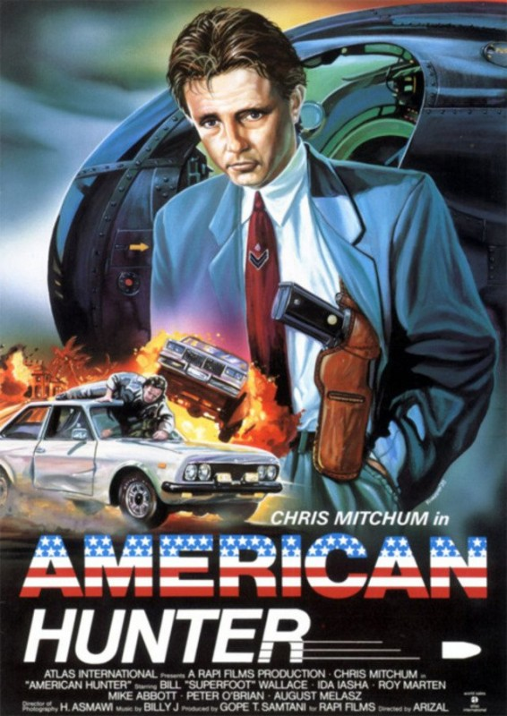 American Hunter 1989 Christopher Mitchum Action Movie Videospace