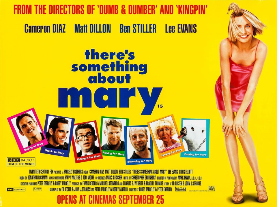 There S Something About Mary 1998 Cameron Diaz Comedy Movie Videospace