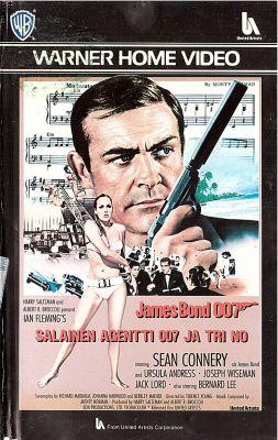Salainen agentti 007 ja tohtori No (1962) | vhs