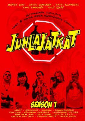 Juhlajätkät (2008) director: Ville Lähde | DVD | Trash Video (finland)