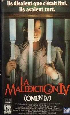 La malédiction IV (Omen IV) () | vhs