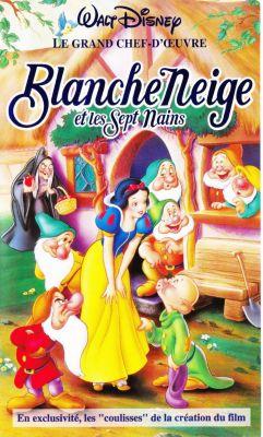 Blanche Neige et les sept nains (1937)   vhs