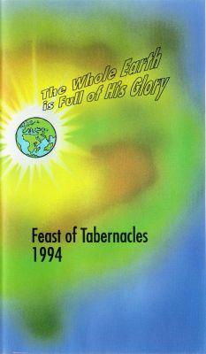 Feast of Tabernacles 1994 (1994) director:  | VHS | International Christian Embassy Jerusalem (finland)
