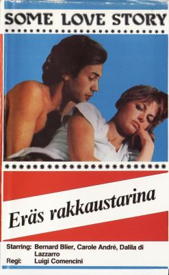 Eräs rakkaustarina (1980) director: Luigi Comencini | VHS | Tamline Ky (finland)