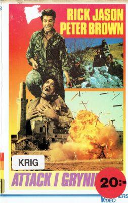 Attack i gryningen (1970) | vhs