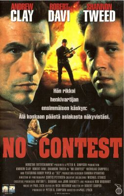 No Contest 1995 Director Paul Lynch Vhs Nordisk Film