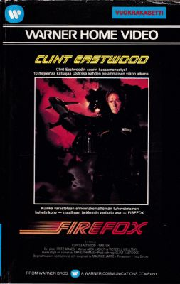 Firefox (1982), Clint Eastwood action movie