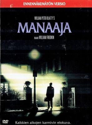 Manaaja - Ennennäkemätön versio (2013) | dvd