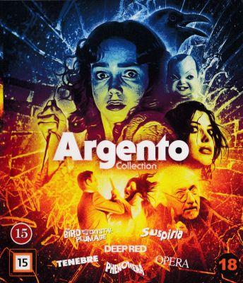 Dario Argento Collection, The (2015) | bluray