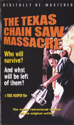 Texas Chain Saw Massacre, The (1974)   vhs