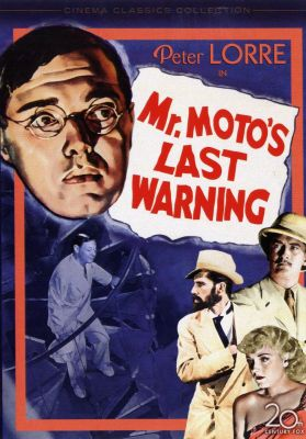 Mr. Moto's Last Warning (1939) | dvd