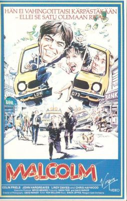 Malcolm (1986) director: Nadia Tass | VHS | Virgin Video (finland)