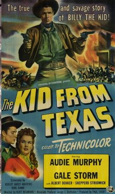 The Kid from Texas (1950) | vhs