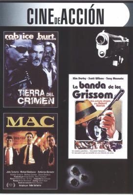 Tierra del crimen & MAC & La banda de los Grissom () | dvd