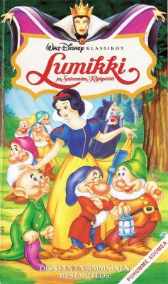 Lumikki ja Seitsemän Kääpiöitä (1937)   vhs