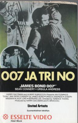 007 ja tri No (1987) | vhs