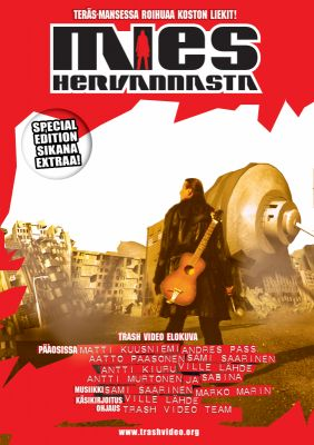 Mies Hervannasta (2003) director: Antti Kiuru | DVD | Trash Video (finland)