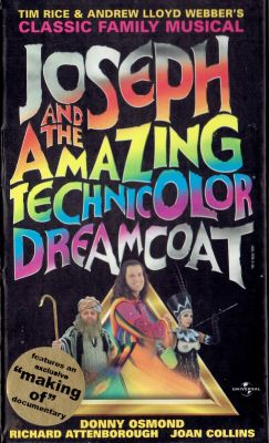 Joseph and the Amazing Technicolor Dreamcoat (1999) director: David Mallet | VHS | Universal (uk)