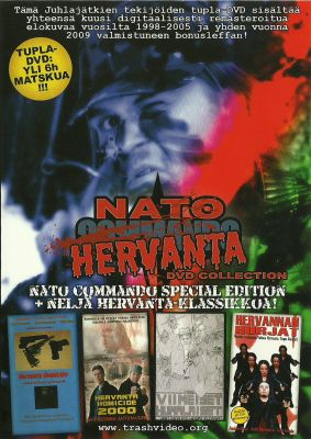 Nato-Hervanta DVD (2005) director: Ville Lähde | DVD | Trash Video (finland)
