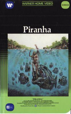 Piranha (1978) director: Joe Dante | VHS | Warner Home Video