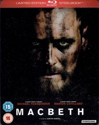 Macbeth - Limited Edition Steelbook™ (2015) director: Justin Kurzel | BLU-RAY | Studio Canal (uk)