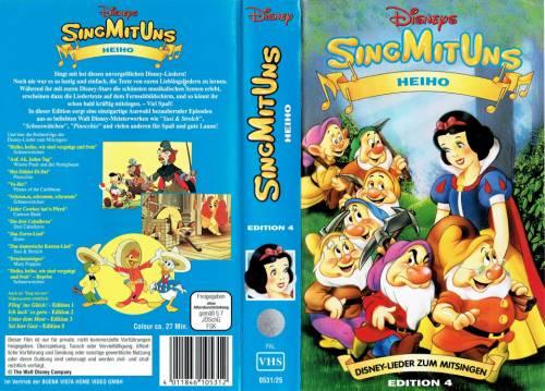 SingMitUns Edition 4 - Heiho (1987) director:  | VHS | Disney / Buena Vista (germany)