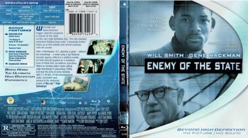 Enemy Of The State 1998 Director Tony Scott Blu Ray Disney Buena Vista Usa Videospace