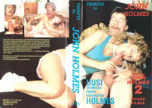 Tribute to John Holmes (1984) director: Max Strand   VHS   Unknown Distributor