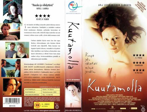 Kuutamolla (2002) director: Aku Louhimies | VHS | Egmont Entertainment (finland)