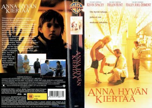 Anna hyvän Kiertää (2000) director: Mimi Leder   VHS   Sandrew Metronome (finland)
