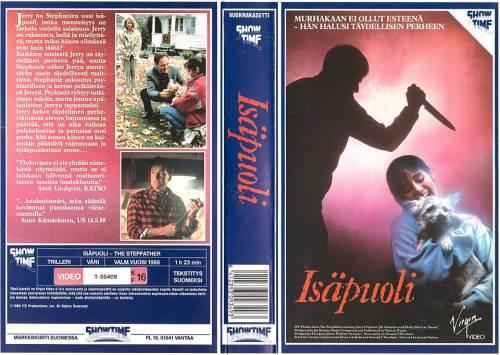 Isäpuoli (1987) director: Joseph Ruben   VHS   Showtime (finland)