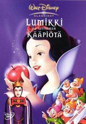 Lumikki ja seitsemän kääpiötä (1937)   dvd