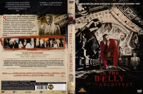 In The Belly Of An Architect 1987 Director Peter Greenaway Dvd Future Film Finland Videospace