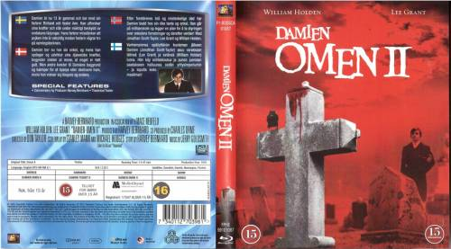 Damien: Omen II (1978) director: Don Taylor | BLU-RAY | 20th Century Fox / Twentieth Century Fox (finland)