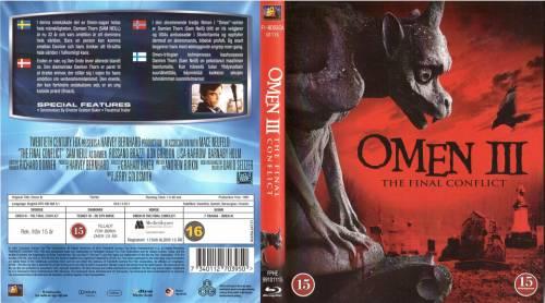 Omen III: The Final Conflict (1981) director: Graham Baker   BLU-RAY   20th Century Fox / Twentieth Century Fox (finland)