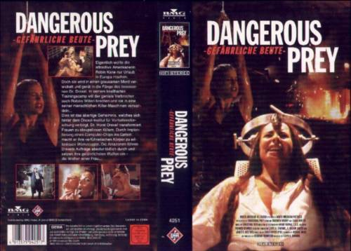 Dangerous Prey - Gefährliche Beute (1995) director: Lloyd A. Simandl | VHS | BMG Video (germany)