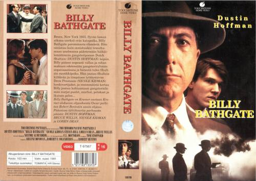 Billy Bathgate (1991) director: Robert Benton   VHS   Buena Vista Home Entertainment (finland)