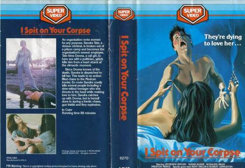 I Spit on Your Corpse (1974) director: Al Adamson | VHS | Super Video Inc. (usa)