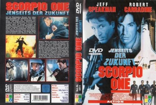 Scorpio One - Jenseits der Zukunft (1998) director: Worth Keeter | DVD | Madison Video (germany)