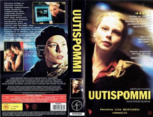 Uutispommi (2001) director: Colin Nutley | VHS | FS Film (finland)