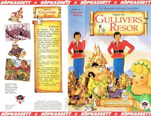 Sagan Om Gullivers Resor 1939 Director Dave Fleischer