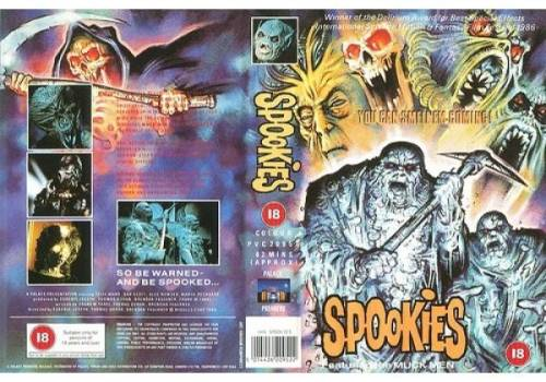 Spookies (1986) director: Genie Joseph | VHS | Palace Video (uk) |  Videospace