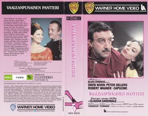 Vaaleanpunainen Pantteri 1963