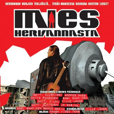 Mies Hervannasta (2003) director: Antti Kiuru | VCD | Trash Video (finland)