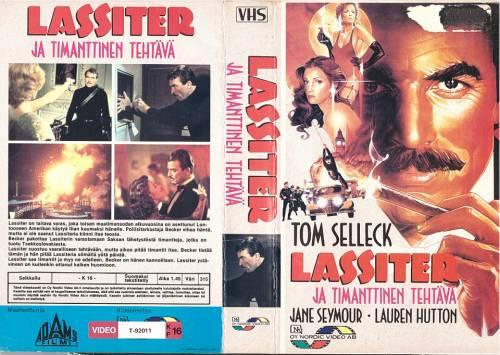 Lassiter ja timanttinen tehtävä (1984) director: Roger Young | VHS | Nordic Video (finland)