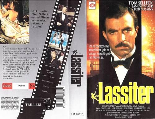Lassiter (1984) director: Roger Young | VHS | LMmedia (finland)