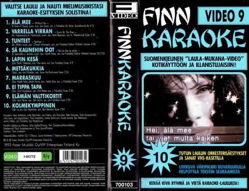 Finn Karaoke Video 9 director:  | VHS | Fazer Musiikki Oy (finland)