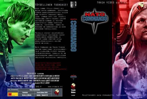 Nato Commando (2005) director: Ville Lähde | DVD | Trash Video (finland)