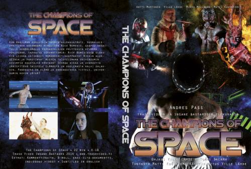 Champions of Space (2014) director: Ville Lähde | DVD | Trash Video (finland)