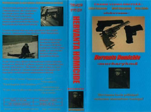Hervanta Homicide (1998) director: Matti Kuusniemi | VHS | Trash Video (finland)